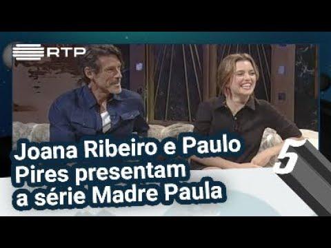 Joana Ribeiro e Paulo Pires apresentam a série Madre Paula - 5 Para a Meia-Noite