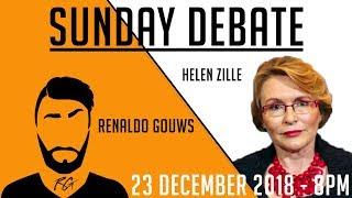 Sunday Debate | Helen Zille | 23rd December 2018