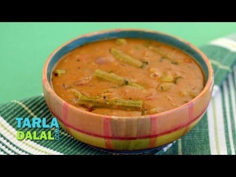 Sambhar/ Famous Sambar recipe/ South Indian lentil recipe by Tarla Dalal