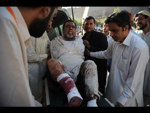 Suicide bomber targets funeral in Pakistan killing 30