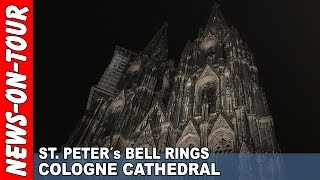 Ringing The Biggest Bell In The World | St. Peter´s Bell Cologne Cathedral 2016-12-24 Dicker Pitter