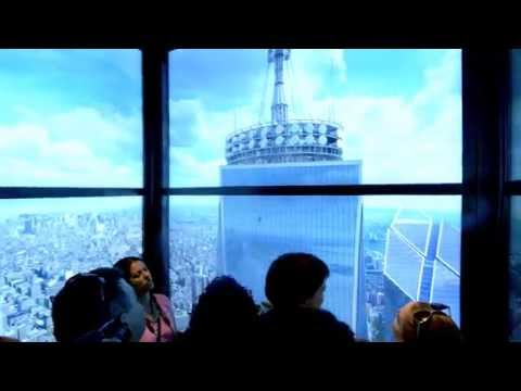 One World trade center Elevator experience