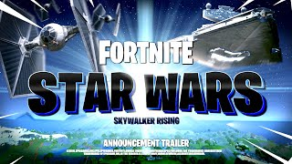 *NEW* FORTNITE STAR WARS CINEMATIC TEASER TRAILER! ALL DETAILS & LEAKS!: BR