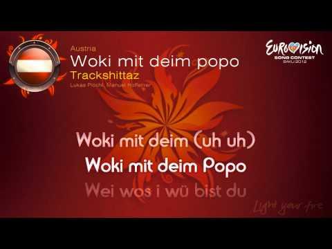 "Trackshittaz - ""Woki Mit Deim Popo"" (Austria) - [Karaoke version]"