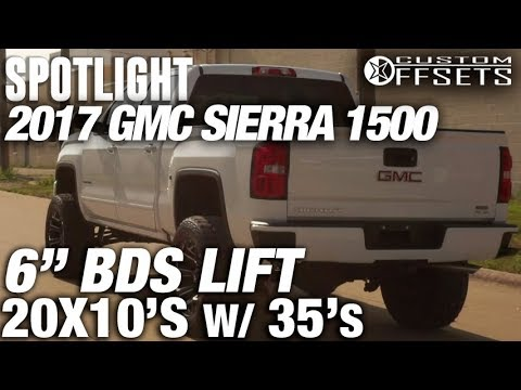 "Spotlight - 2017 Gmc Sierra 1500, 6"" BDS Lift, 20x10's, and 35's"