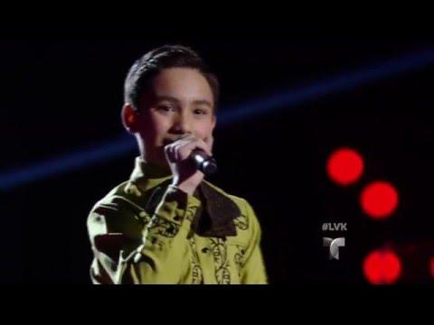 Francisco García canta 'La Ley del Monte'   Audiciones   La Voz Kids 2016