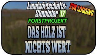 DAS HOLZ IST NICHTS WERT - LS17 FORST FDR LOGGING #051 ★ Let