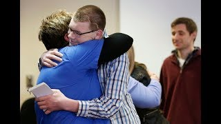 Former patient meets medical staff that helped save his life 17 years later