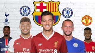 Latest football transfer news coutinho, mbappe, chamberlain, lemar and more