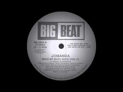 Jomanda - Make My Body Rock The Basic Mix Big Beat Records 1988
