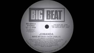 Jomanda - Make My Body Rock (The Basic Mix) Big Beat Records 1988