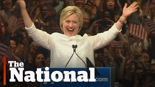 Hillary Clinton presumptive Democratic nominee for president
