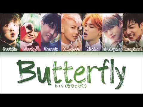 BTS - Butterfly (Color Coded Lyrics Eng/Rom/Han/가사)