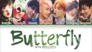 Download BTS - Butterfly (Color Coded Lyrics Eng/Rom/Han/가사)