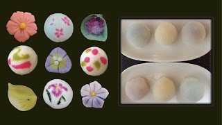 "Soft ""Daifuku"" like sweet ; a round rice cake__  Yu-Art Kichijoji"