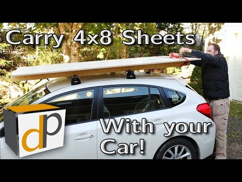 How to Carry Building Materials with Your Car