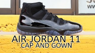 "AIR JORDAN 11 ""CAP AND GOWN"" UNBOXING"