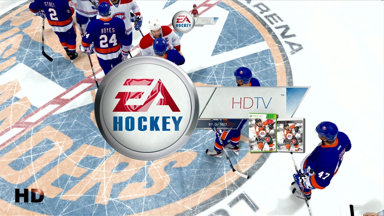 NHL 13 2013 14 Playoffs Broadcast Montreal Canadiens Vs New York Islanders 1080p