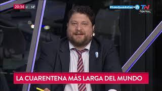 Wiñazki, Al Hueso: La Cuarentena Más Larga Del Mundo