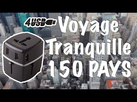 Adaptateur Secteur De Voyage ✈️ POUR 150 PAYS