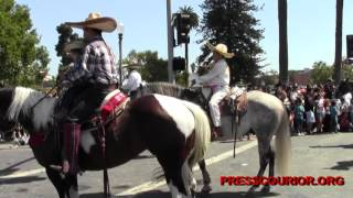 Oxnard Ca, Mexican Independence  Parade 2013 Fiestas Patrias