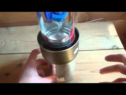 tự chế tạo động cơ stirling đơn giản từ lon bia