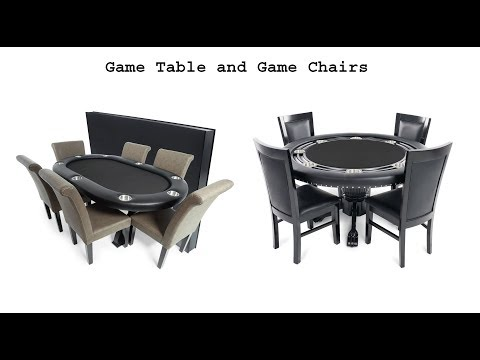 Top 5 Best Game Table And Game Chairs 2019