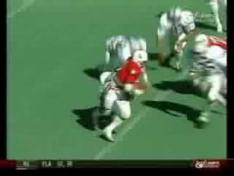 Nebraska vs Penn State - 1981 - Rozier Kick Return