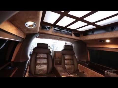 MC Customs GMC Savana Cargo Van Custom Interior