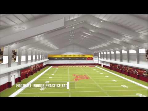 University of Minnesota Football Performance Center & Indoor Facility Flythrough