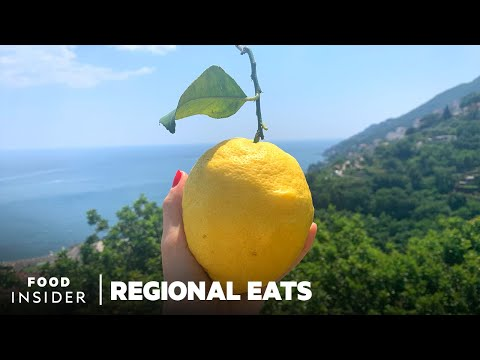 How Limoncello Is Made Using Huge Amalfi Coast Lemons | Regional Eats