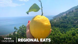 How Limoncello Is Made Using Huge Amalfi Coast Lemons   Regional Eats