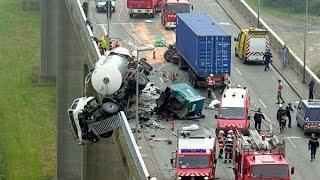 Страшные аварии на дорогах | Подборка аварий с видеорегистраторов