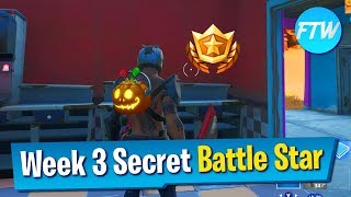 Fortnite Season 10 Week 3 Secret Battle Star Location