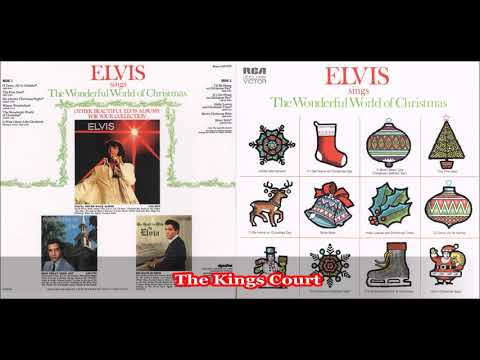 Elvis Presley - The Wonderful World Of Christmas - 1971 - Full Album