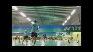 Glasgow Commonwealth Games 2014- Malaysia Badminton Team Training