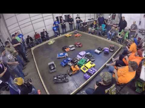 Northeast Iowa RC Demo Derby (Manchester) - 1/21/2017 - Individual Main