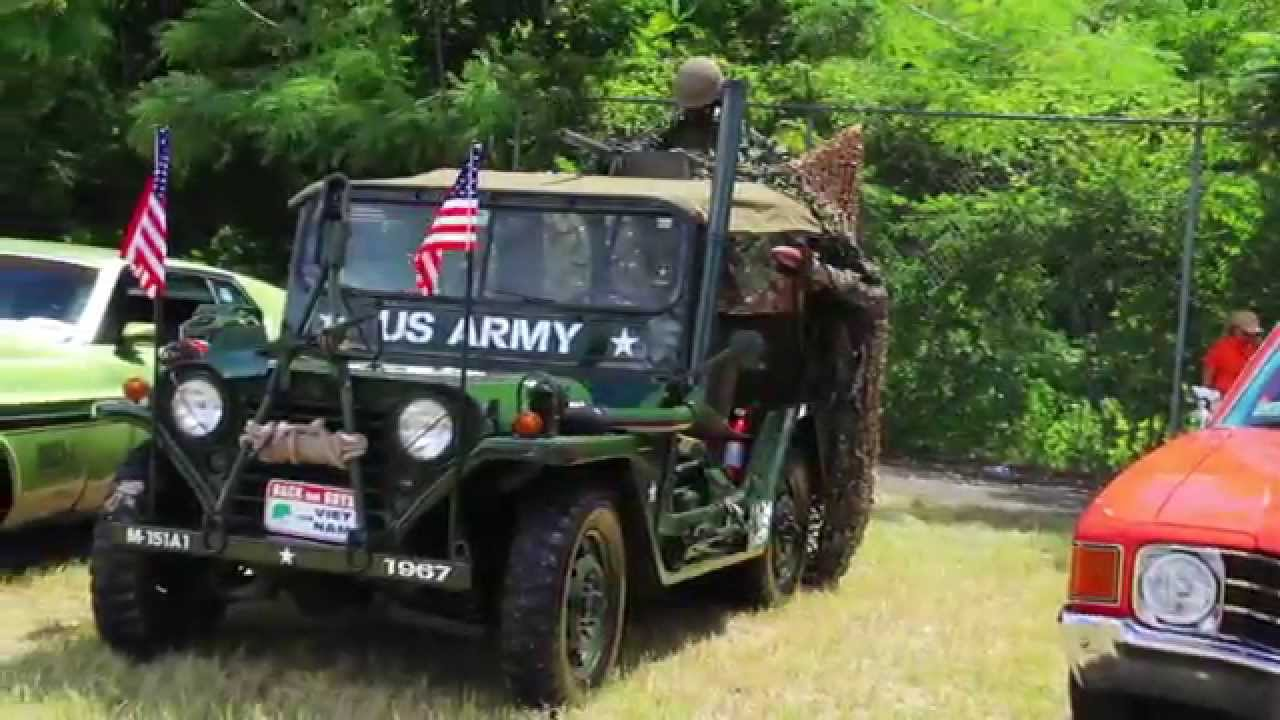 Original Vintage Jeep Vietnam War Style Mods Youtube