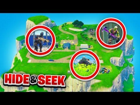 *NEW* SPAWN ISLAND Hide & Seek in Fortnite