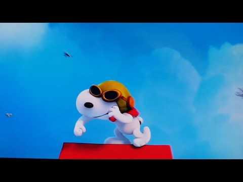 The peanuts movie red barron vs snoopy