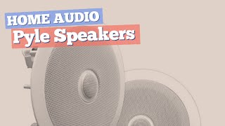 Pyle Speakers // Home Audio Best Sellers