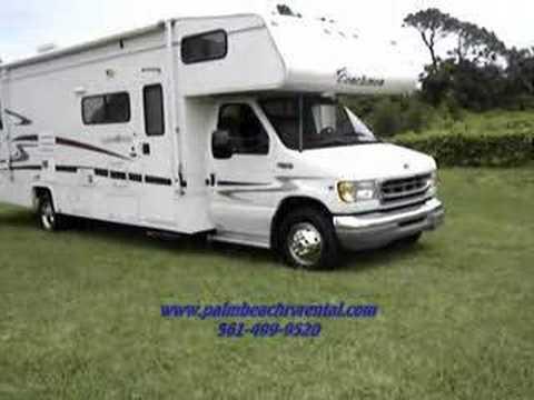 Palm Beach RV Rental Motorhome Camper RV Rental
