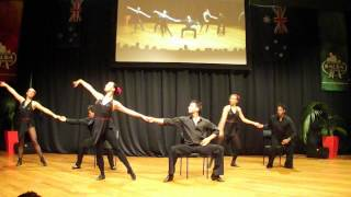 Dance Pro Performance Team Chair Tango at NZ Salsa Congress 2012 - 3rd attempt :)