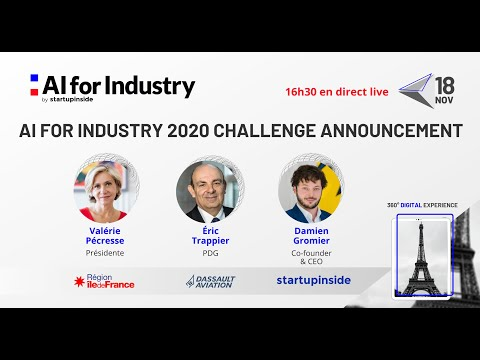 Annonce du Challenge AI for Industry 2020 - Dassault Aviation