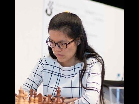 Alexander Morozevich 0 - 1 Hou Yifan, Biel 2017.