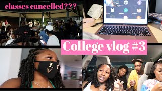 COLLEGE VLOG #2 || First day of classes & Plaza Nights