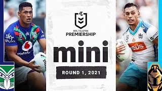 Warriors v Titans Match Mini   Extended Highlights   Round 1, 2021   NRL