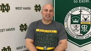 NDWH Wrestling Head Coach Rich Anderson Previews 2018 2019 Season