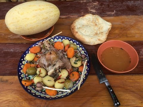 Баранина с картофелем (Казан-кабоб)видео рецепт