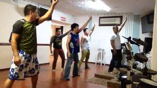 LRM DANCE MINISTRY 1st practice hello my name is by Matthew west
